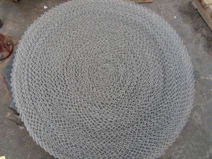 Standard wire mesh of demister