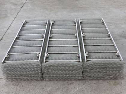Wire mesh demister that made of efficient wire mesh