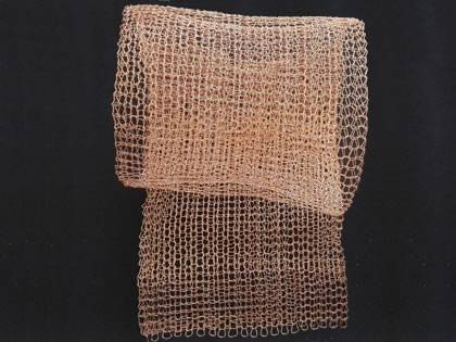 Knitted Wire Mesh for Shielding, Cleaning and Separating